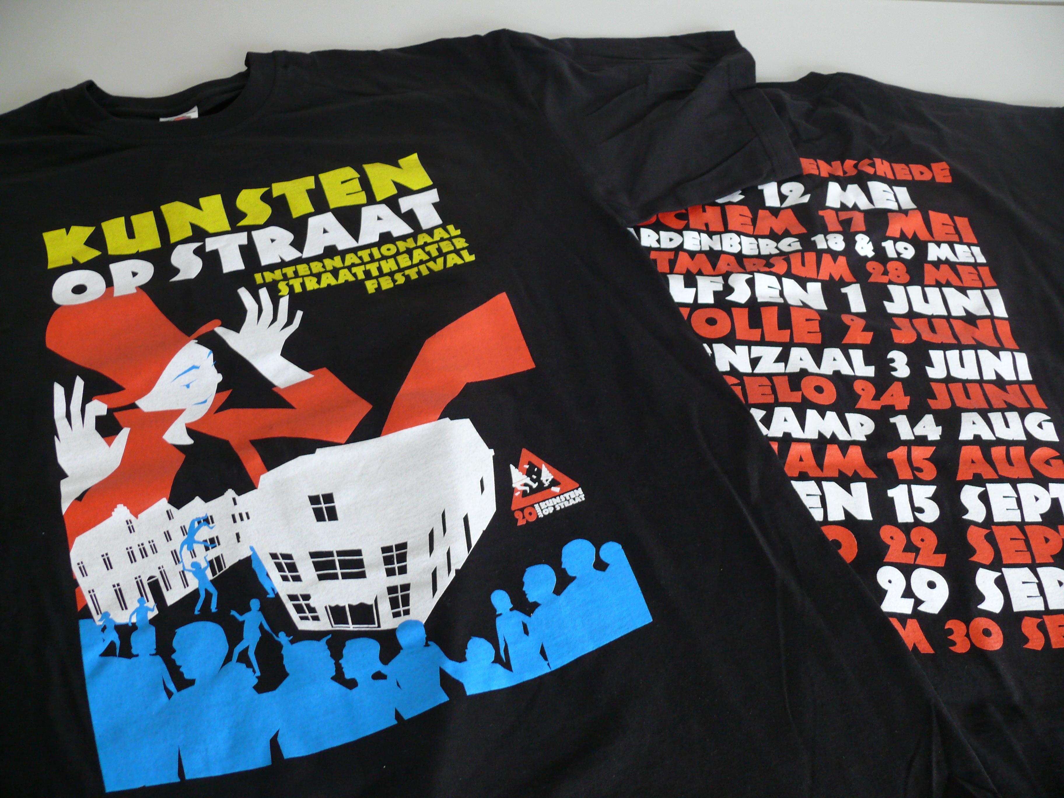 shirt, voor en achterzijde