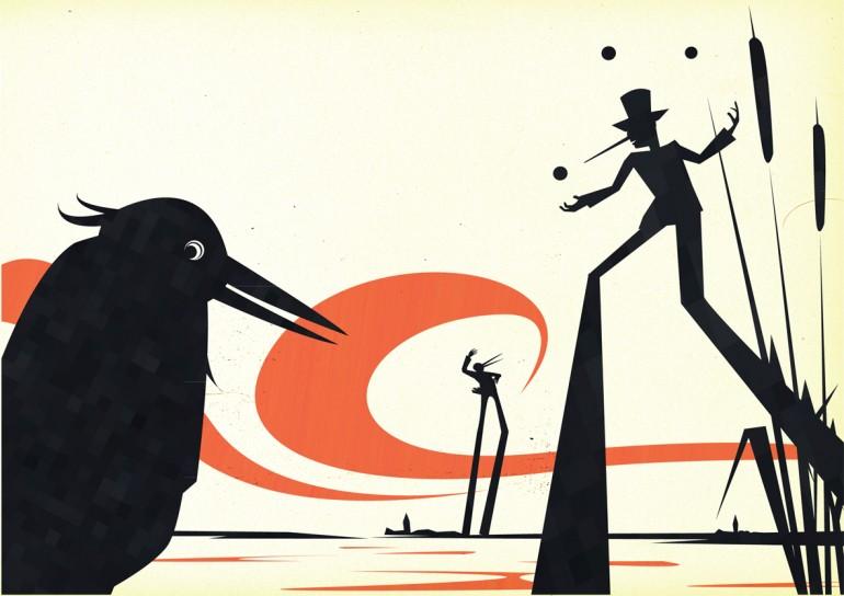 Beeld van Overijssel, illustratie bij gedicht
