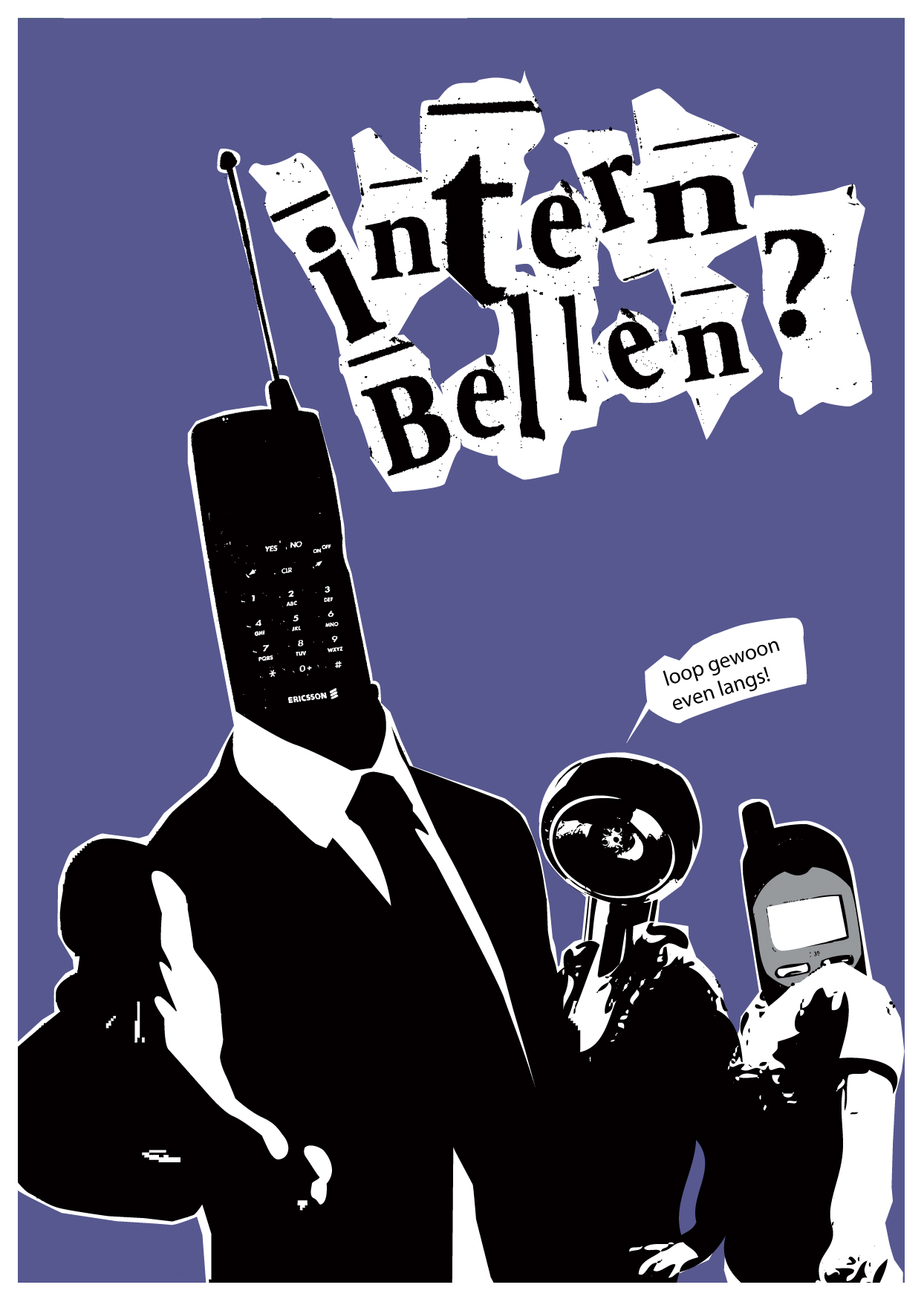 intern bellen